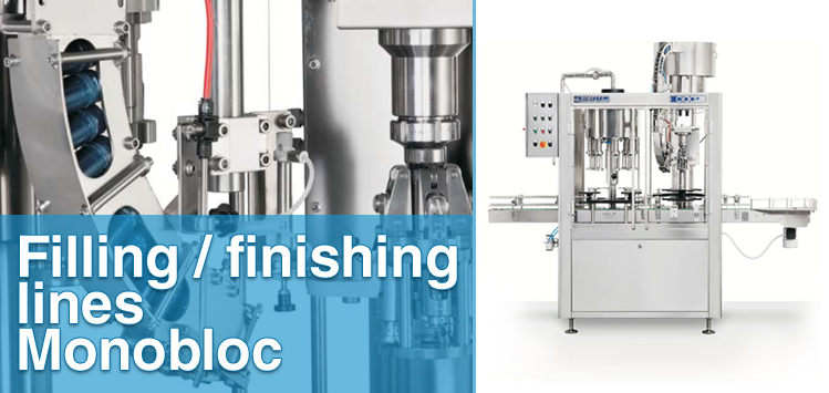 Filling/finishing lines - Monobloc