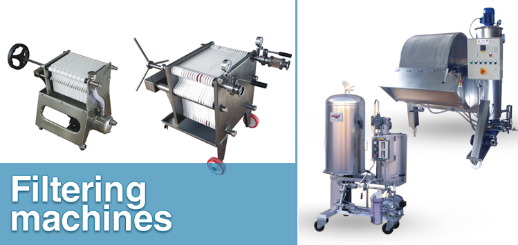 Filtering machines